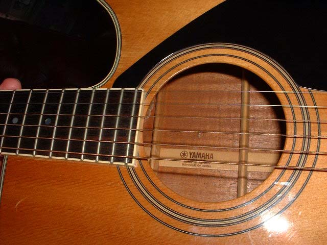 My Yamaha Guitar Has Two Numbers